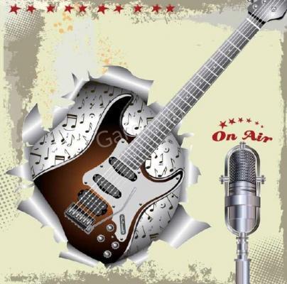 Верзалитов плот Guitar
